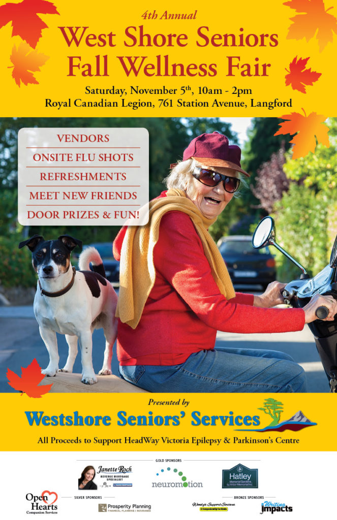 Seniors home care, care facilities,RV parks B &B, Churches, Brew pubs, craft breweries, vineyards, distilleries, Pets BC. Seniors 101, Island Voices promoting the products and services available for seniors on Vancouver Island. Seniors 101 lifeline. Snowbirds.