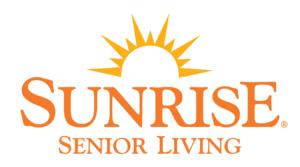 SunriseSeniorLiving sun logo