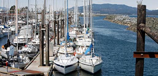 Marinas on Vancouver Island