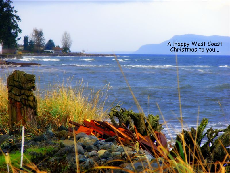 Happy Christmas Seniors on Vancouver Island and around the world.